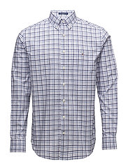THE B-CLOTH 3 COL GINGHAM REG BD - SOFT VIOLET