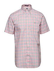 THE B-CLOTH 3COL GINGHAM REG SS BD - PINK ROSE