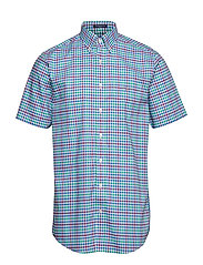 THE B-CLOTH 3COL GINGHAM REG SS BD