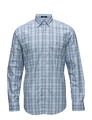 OP1. BROADCLOTH CHECK REG BD - COLLEGE BLUE