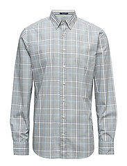 TECH PREP CHAMBRAY CHECK REG BD - LIGHT BLUE