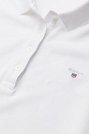 GANT - THE ORIGINAL PIQUE LSS - polo shirts - white - 2