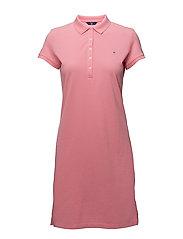 O1. THE ORIGINAL PIQUE DRESS SS - PINK ROSE