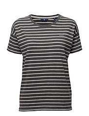 Gant - O. Dropped Shoulder Striped T-Shirt