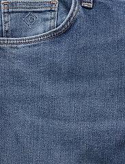 GANT - SLIM SUPER STRETCH JEANS - slim jeans - semi light blue broken in - 2