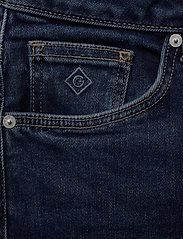 Gant - SLIM SUPER STRETCH JEANS - slim jeans - dark blue worn in - 2