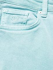 GANT - D1. HW SLIM CROPPED COLOUR JEANS - slim jeans - aquatic blue - 2