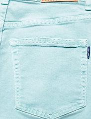 GANT - D1. HW SLIM CROPPED COLOUR JEANS - slim jeans - aquatic blue - 4