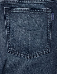 GANT - D1. CROPPED AUTHENTIC JEANS - straight jeans - dark blue broken in - 4