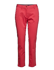 CLASSIC CROPPED CHINO - WATERMELON RED