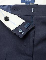 Gant - CLUB PANTS - suorat housut - marine - 3
