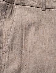 Gant - D2. STRETCH LINEN SLIM SLOUCH PANT - pantalons droits - dark khaki - 2