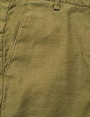 GANT - D1. HW SUMMER LINEN PANT - bukser med brede ben - olive green - 2