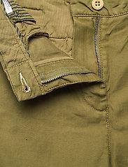 GANT - D1. HW SUMMER LINEN PANT - bukser med brede ben - olive green - 3