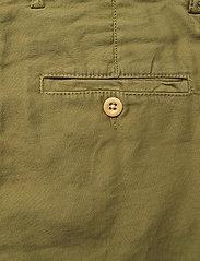 GANT - D1. HW SUMMER LINEN PANT - bukser med brede ben - olive green - 4