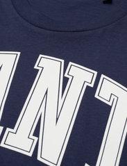 GANT - MD. FALL SS T-SHIRT - t-shirts - evening blue - 2