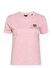 ARCHIVE SHIELD SS T-SHIRT - PREPPY PINK