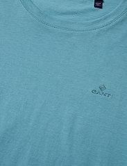 GANT - ORIGINAL SS T-SHIRT - basic t-shirts - seafoam blue - 2