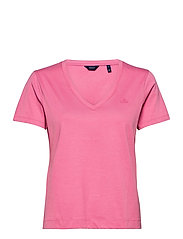 ORIGINAL V-NECK SS T-SHIRT - CHATEAU ROSE
