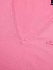 GANT - ORIGINAL V-NECK SS T-SHIRT - t-shirts - chateau rose - 1