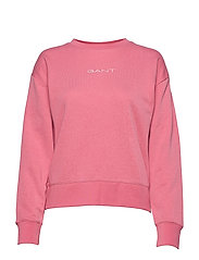 D1. 13 STRIPES C-NECK SWEAT - CHATEAU ROSE