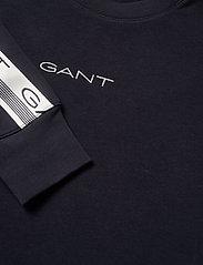 GANT - D1. 13 STRIPES C-NECK SWEAT - sweatshirts - evening blue - 2