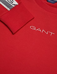 GANT - D1. 13 STRIPES C-NECK SWEAT - sweatshirts - fiery red - 2