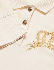 GANT - D1. CROWN EMBROIDERY POLO PIQUE - t-shirt & tops - cream - 2