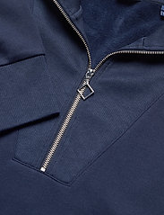 GANT - D1. HALF ZIP SWEAT - sweatshirts - evening blue - 2