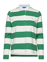 ORIGINAL BARSTRIPE HEAVY RUGGER LS - JADE GREEN