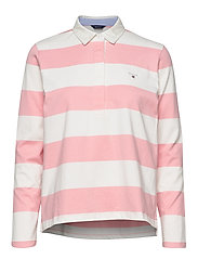 ORIGINAL BARSTRIPE HEAVY RUGGER LS - PREPPY PINK
