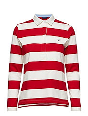 ORIGINAL BARSTRIPE HEAVY RUGGER LS - RED