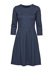 O1. CLASSIC DAYWEAR DRESS - MARINE