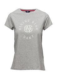 Gant - Op2. Gant Rising Star Ss T-Shirt