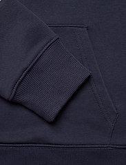 GANT - D1. GRAPHIC BLOCK STRIPE HOODIE - bluzy z kapturem - evening blue - 3
