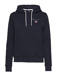 D1. MEDIUM SHIELD HOODIE - EVENING BLUE