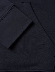 Gant - D1. MEDIUM SHIELD HOODIE - hoodies - evening blue - 3