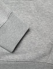 Gant - D1. MEDIUM SHIELD HOODIE - hoodies - light grey melange - 3