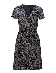 Gant - O2. Aop Wrap Dress