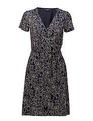 Gant - O2. Aop Wrap Dress