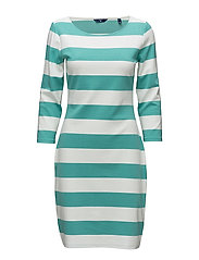 O1. BARSTRIPED SHIFT DRESS