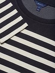 Gant - D1. STRIPED SHIFT DRESS - midimekot - evening blue - 2