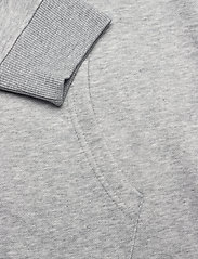 GANT - D1. ARCHIVE SHIELD HOODIE DRESS - short dresses - grey melange - 3