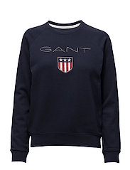 Gant - Gant Shield Logo C-Neck Sweat