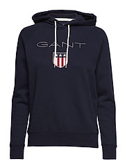 SHIELD SWEAT HOODIE - EVENING BLUE