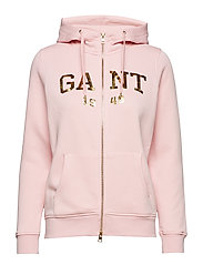 O2. GIFT GIVING FULL ZIP HOODIE - CALIFORNIA PINK
