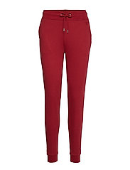 TONAL SHIELD SWEAT PANTS - MAHOGNY RED