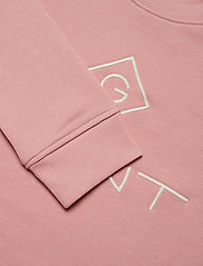 Gant - GANT LOCK UP C-NECK SWEAT - sweatshirts - summer rose - 2