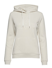 GANT LOCK UP SWEAT HOODIE - PUTTY