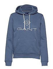 GANT LOCK UP SWEAT HOODIE - SALTY SEA